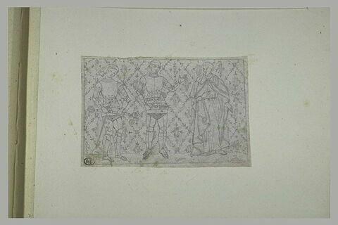 Copie d'enluminure gothique