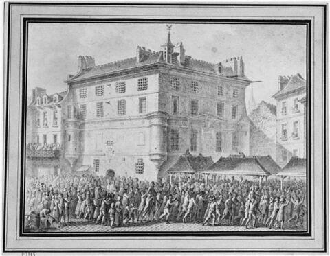 Le Peuple délivrant les gardes françaises à l'abbaye de Saint-Germain