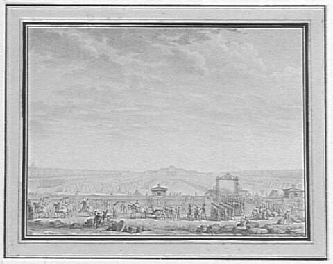 Les Troupes du Champ-de-Mars partant pour la place Louis XV, 12 juillet 1789