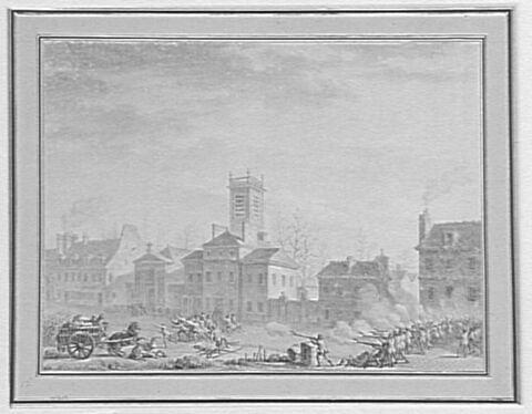 Massacre à La Chapelle par les chasseurs des barrières (24 janvier 1791)