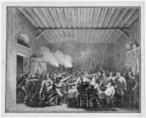 Arrestation de Louis seize à Varennes (22 juin 1791)