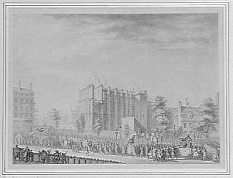 Pompe funèbre en l'honneur de Simoneau, maire d'Etampes (3 juin 1792)
