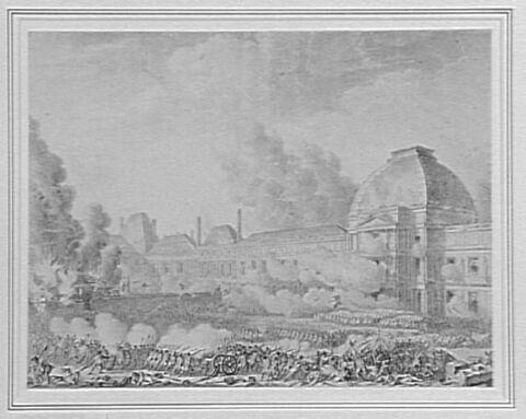Siège et prise du château des Tuileries (10 août 1792)