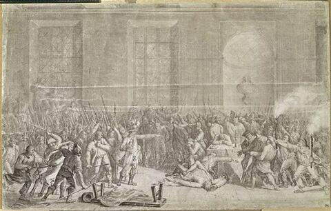 Massacres des prisonniers de l'abbaye dit aussi La Nuit du 9 au 10 thermidor