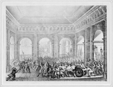 Le Peuple entrant au château des Tuileries (20 juin 1792)