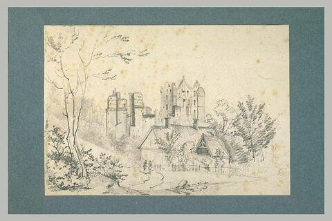 Ruines d'un château-fort médiéval