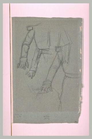 Etude de bras pour le portrait de Napoléon III