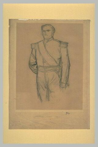 Etude pour le portrait du prince Napoléon