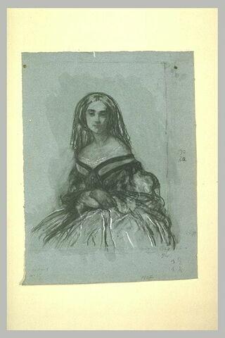 Etude pour le portrait de madame Fraissinet (de Marseille)