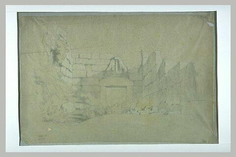 La Porte des Lions à Mycènes