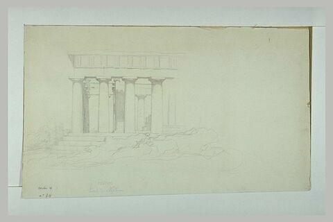 Le temple de Poseidon à Paestum