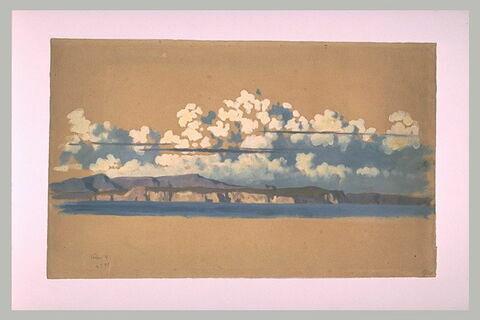 Vue panoramique des côtes d'Ischia