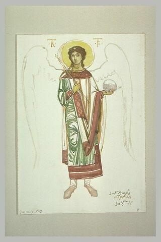 Archange, d'après l'abside droite à San Angelo in Formis, près de Capoue