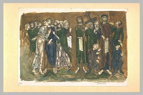 D'après Saint-Marc à Venise : Le baiser de Judas, le Jugement du Christ
