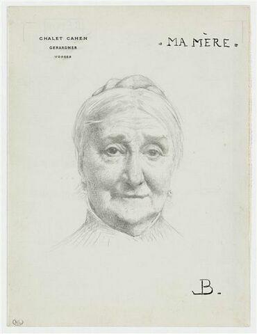 Portrait de madame Bonnat mère