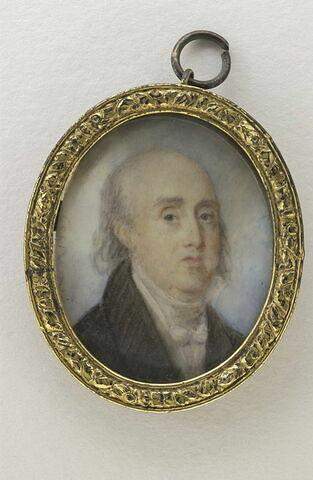 Portrait de vieillard chauve