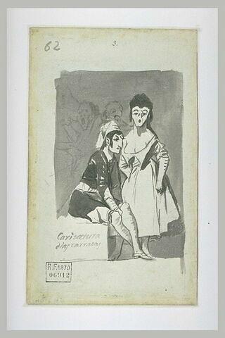 'Caricatura dlas arracas' ('Caricature des carracas' ?)