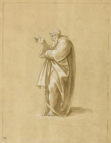 Figure de Dieu dans la création d'Eve