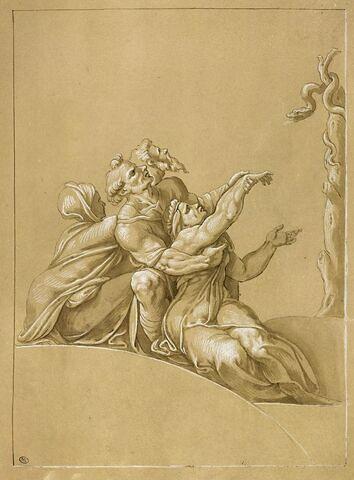 Fragment du Serpent d'Airain