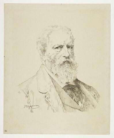 Portrait de l'artiste par lui-même, en buste, de trois quarts