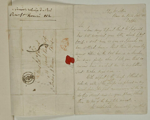 Novembre 1845, Dieppe, à Edouard Pingret par Thomas Sellier