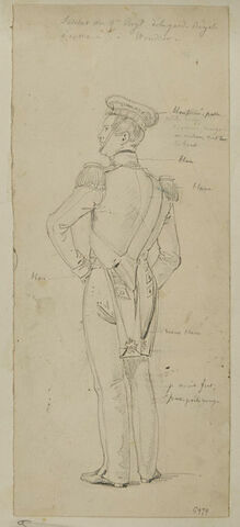 Soldat du 3ème régiment de la garde royale écossaise à Windsor
