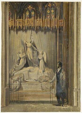 Le Roi à la chapelle Saint-Georges