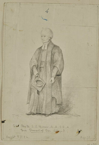 Reverend J.-S. Grover, M.A.F.S.A., Vice Provost of Eton College
