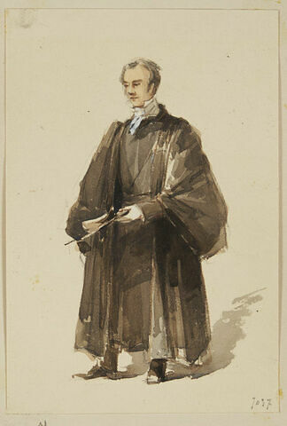 Portrait d'un professeur d'Eton