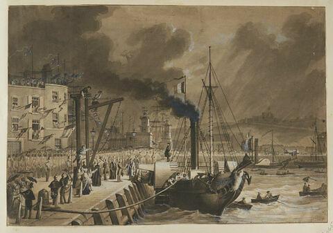 Embarquement à Douvres