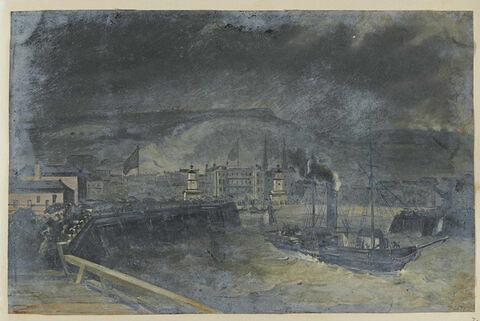Départ de Douvres