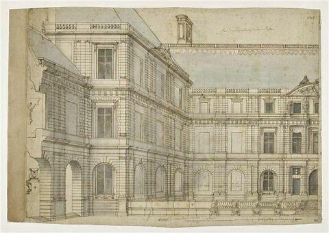 Etude pour le palais du Luxembourg