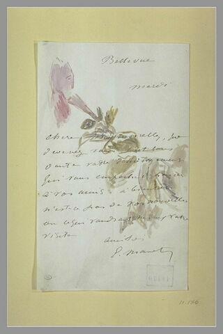 Mardi (1880), Bellevue, à Isabelle Lemonnier