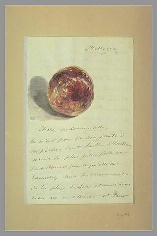 (1880), Bellevue, à Isabelle Lemonnier