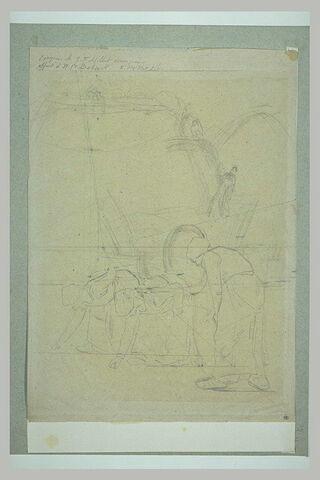 Etude pour les Glaneuses (1857)