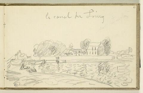 le canal du Loing