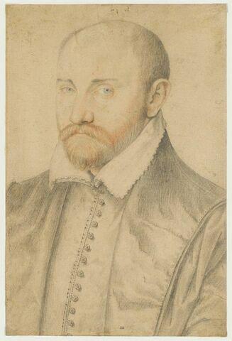 Portrait de Philbert Babou, cardinal de La Bourdaisière (1513-1570)