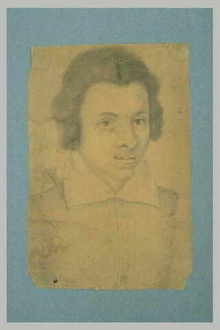Jeune homme portant un pourpoint à colerette