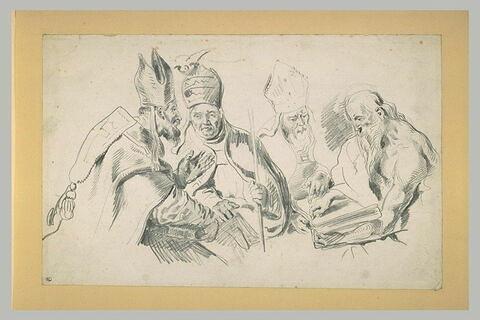 Quatre Pères de l'Eglise