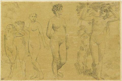 Cinq femmes nues