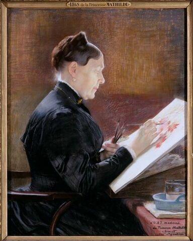 La princesse Mathilde Laetitia Wilhelmine Bonaparte (1820-1904)