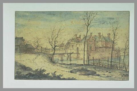 La maison Becelaar, près d'Ypres