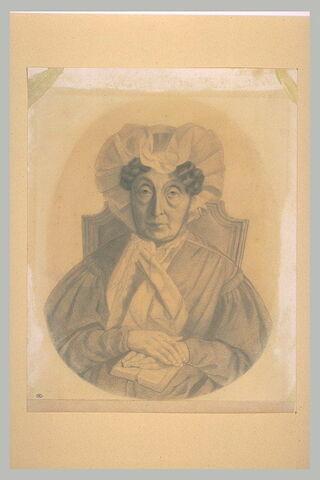 Portrait de Mme Gondebrait, en bonnet à coques