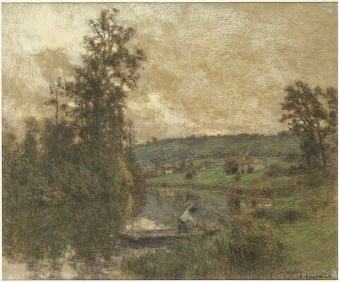 La Marne, le soir