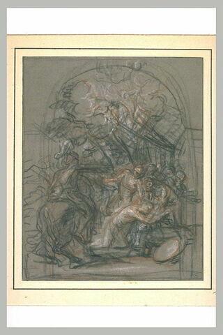Le martyre de saint Julien