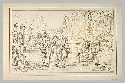 Eliézer et Rébecca au puits