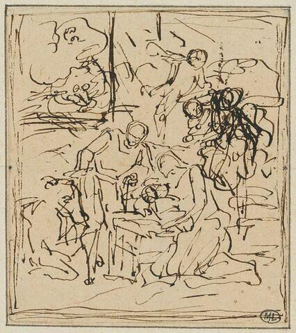 Adoration des bergers ou Nativité