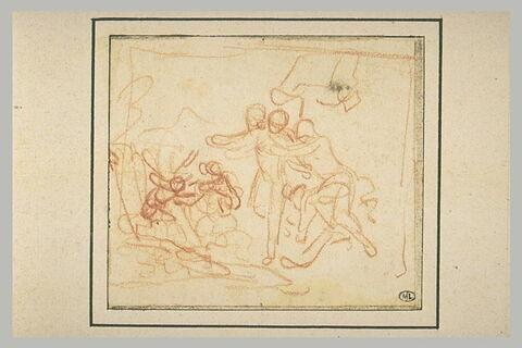 Vénus et Mars aux forges de Lemnos