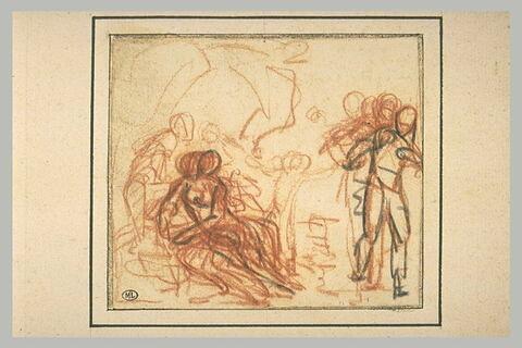 Mars et Vénus aux forges de Lemnos