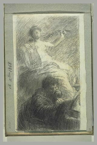 Le poète et sa muse